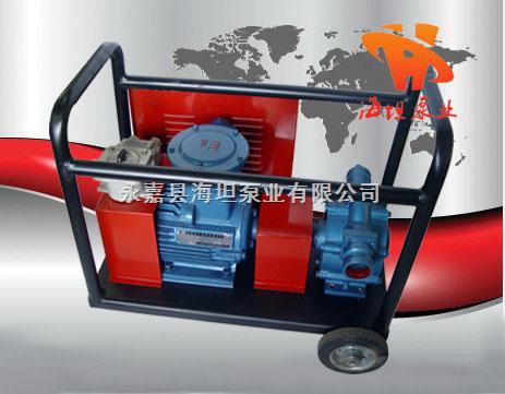 KYB型移动式自吸滑板泵, 自吸油泵, 移动式滑板泵