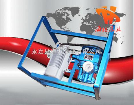 永嘉县海坦牌 JB-70型电动、手摇二用计量加油泵