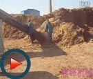 燕峰秸秆压块机视频